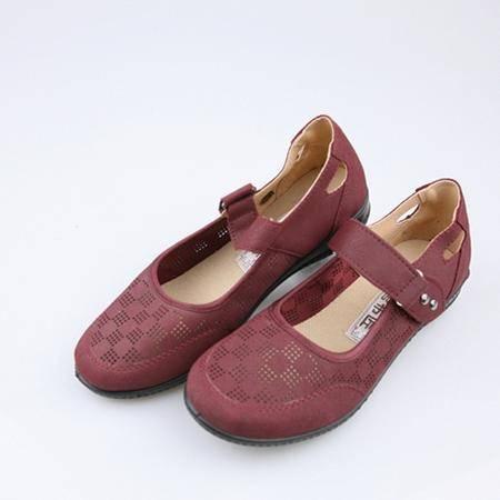 老北京布鞋 红色 180008