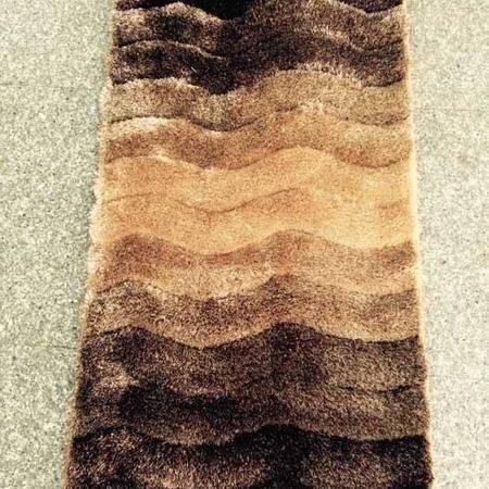 天韵 细丝床边毯 0.7m*1.4m 地毯客厅茶几沙发卧室床边防滑地毯满铺房间飘窗垫