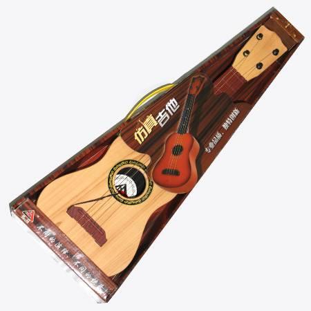 仿真吉他  135 可弹奏儿童乐器玩具吉他 非木制仿真钢弦初学音乐宝宝小吉他吉它