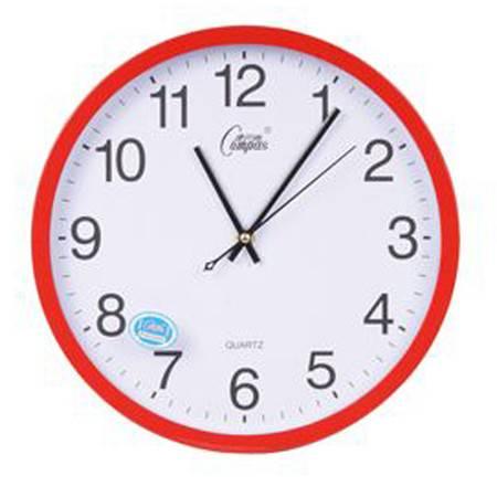 【仅限新乡地区销售】康巴丝(COMPAS)   2767时尚创意客厅钟表挂钟 静音简约时钟