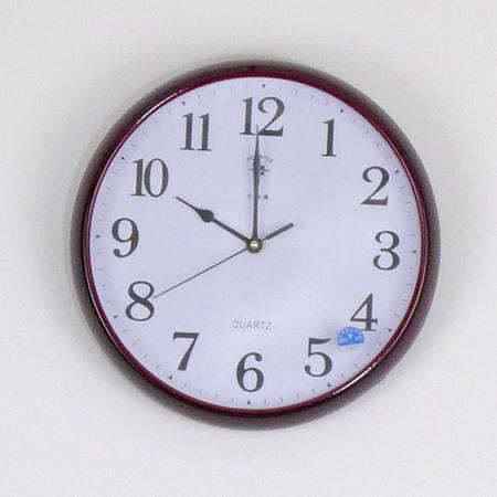 【仅限新乡地区销售】北极星石英钟表7190 简约外观表 高透玻璃钟身表 高强度外壳钟表