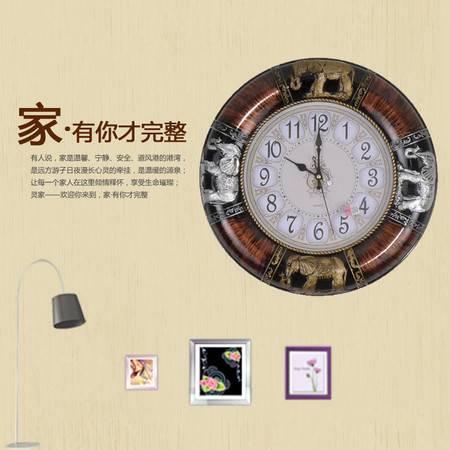 【仅限新乡地区销售】北极星7299欧式复古石英钟客厅卧室挂钟表办公室时钟表艺术装饰百搭创意石英钟表