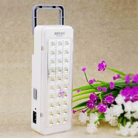 泰格信LED充电式应急灯TGX-6057多功能家用消防户外灯夜市灯地摊灯摆摊灯