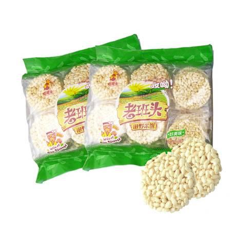 【仅限新乡地区销售】老班头 田野米饼两包(净含量720克)办公室白领学生儿童休闲充饥零食 美味酥脆