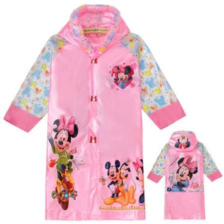 儿童 米奇雨衣女童男童雨衣透气小孩宝宝雨披