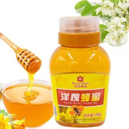 花花蜂子 太行山野生深山土蜂蜜洋槐蜂蜜1000克