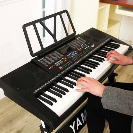 【仅限新乡地区销售】永美 61键教学电子琴 内置MP3播放器 成人儿童61键钢琴键教学型YM-823