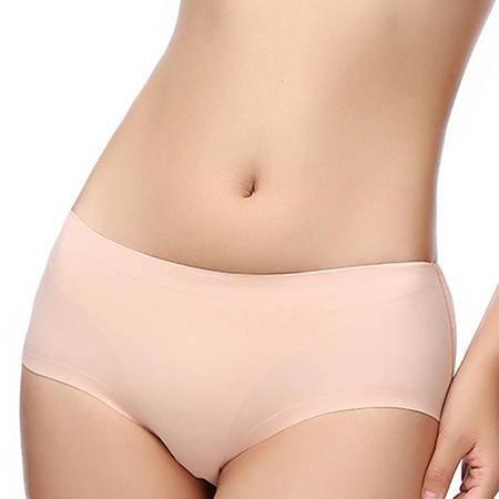 【驼人·康君】莫代尔抗菌无痕女士内裤 一条装