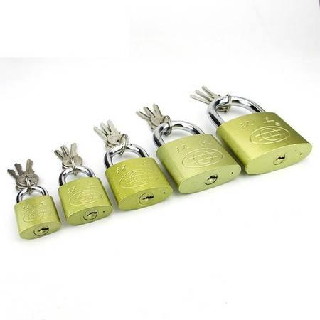 【仅限新乡地区销售】环工 弧形锁套装5把 63MM+50MM+38MM+32MM+25MM 防盗挂锁