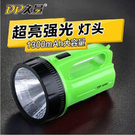久量LED充电式应急灯 1W  711A高亮聚光探照灯 强光远射灯手提灯
