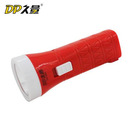 久量 LED充电式手电筒9055 单灯2档 350毫安 0.5W 持久照明 夜钓应急户外电灯 颜色随