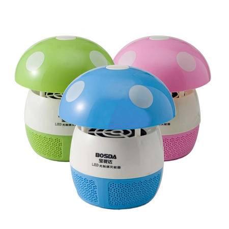 宝视达GD8005 LED光触媒灭蚊灯 3W 家用无辐射驱蚊器孕妇婴儿吸蚊电击捕蚊器 适用面积20㎡