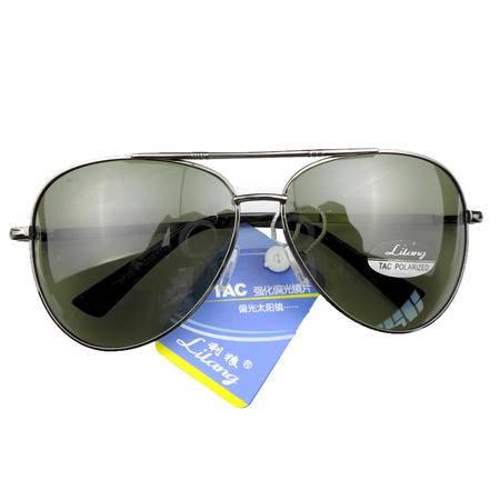 利狼 偏光太阳镜 8533灰 送眼镜盒 收纳袋 眼镜布 户外男士偏光遮阳镜 户外运动开车钓鱼防紫外线