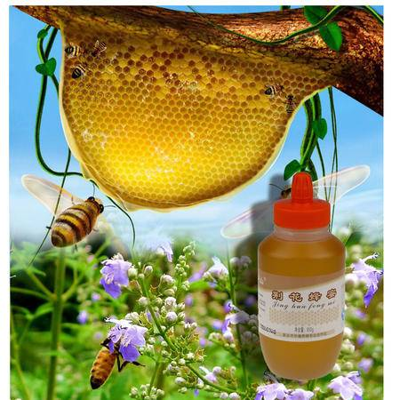 云梦山自然醇正荆花蜂蜜950g纯净农家自产野生土蜜正宗秋冬滋养
