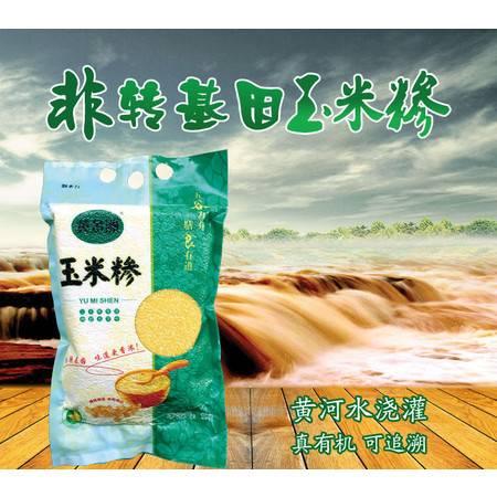 【仅限河南地区销售】黄金洲精制玉米糁1KG 五谷杂粮 健康绿色天然粗粮非转基因