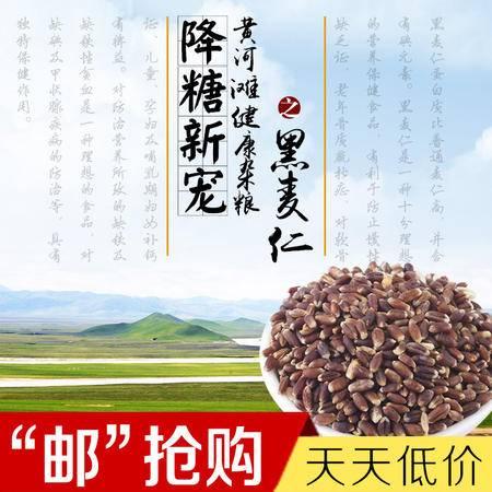 豫之星 黄河滩农家黑麦仁500克/袋 降糖新宠 健康食品 优质农品尝鲜价