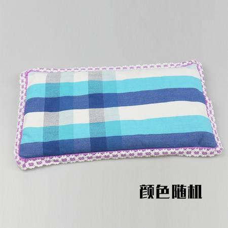 【仅限新乡地区销售】锦绣粗布宝宝荞麦枕 棉枕双面枕 婴儿枕 吸汗透气 颜色随机