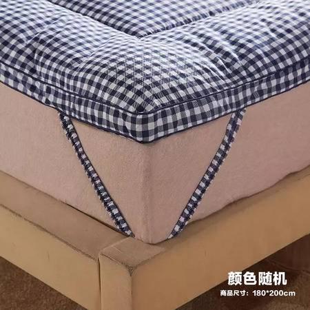 【仅限新乡地区销售】宜家居立体羽丝绒软床垫 180*200cm 颜色随机 加厚被褥床褥 榻榻米床垫