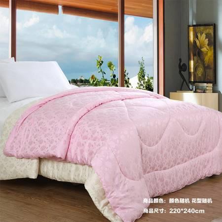 【仅限新乡地区销售】宜家居舒适被 220*240cm 颜色款式随机被子被芯 舒适透气可水洗