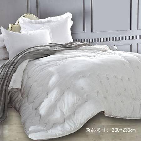 【仅限新乡地区销售】圣路易丝纯暖羊毛被 200*230cm 纯色保暖羊毛被被芯 秋冬厚被 舒适透气