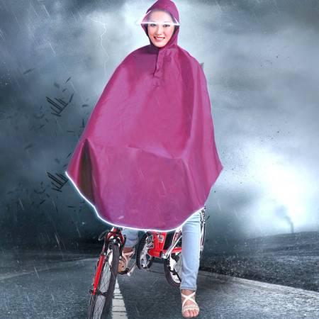 盛世雨大帽檐自行车雨披S-116 挡风雨不挡视线雨衣 男女通用