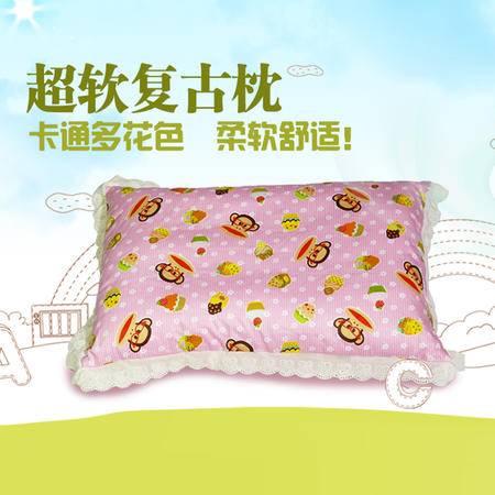 【仅限新乡地区销售】贝想儿童复古枕 30*50cm 颜色随机 婴幼儿枕头 舒适透气吸汗