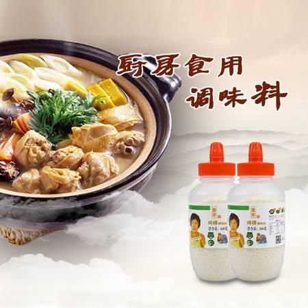 董李 绿色食品鸡精调味料300克 厨房食用调味料 替代味精 餐饮煲汤火锅烧烤