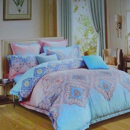 【仅限新乡地区销售】生活秀家纺  天丝磨毛1.8m床大尺寸床单被套保暖柔软加厚立暖绒四季通用床上用品