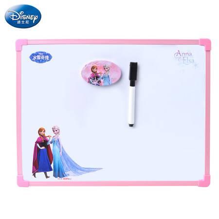 正品联众迪士尼大圆角儿童中号白板 幼儿写字板 儿童画板画写板宝宝写字板P83006