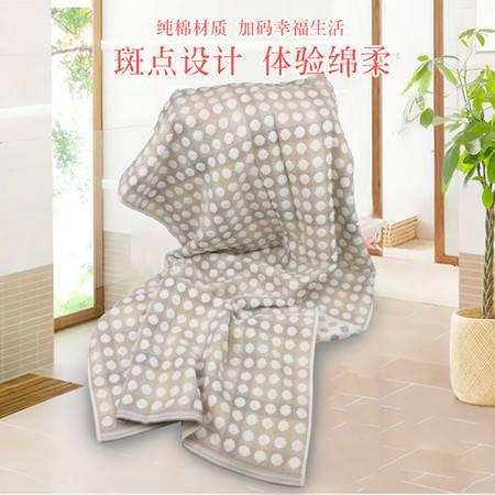 金号G3978浴巾70*140cm 颜色随机 全棉毛巾被浴巾 柔软透气超吸水