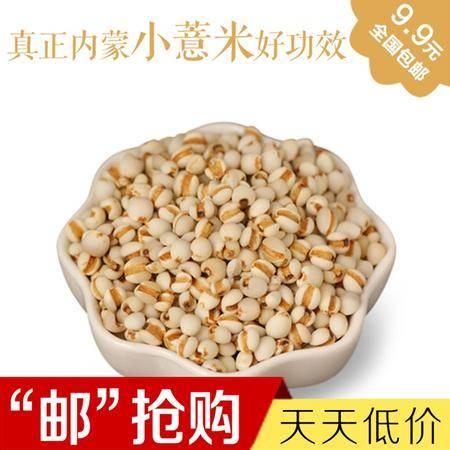 五谷杂粮内蒙药用小薏米350克/袋薏仁食疗精选包邮
