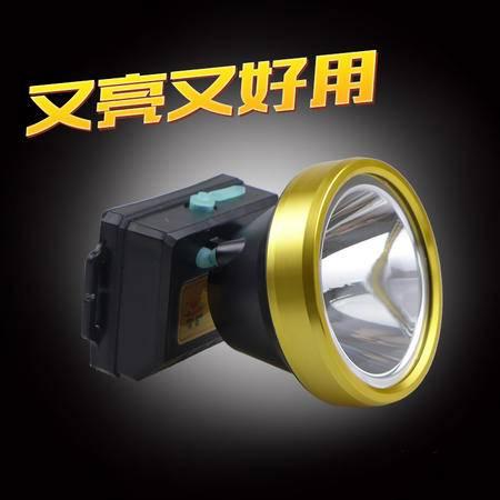 鸿钻 多功能锂电超亮头灯户外露营家用远射防水强白光头戴轻便7806