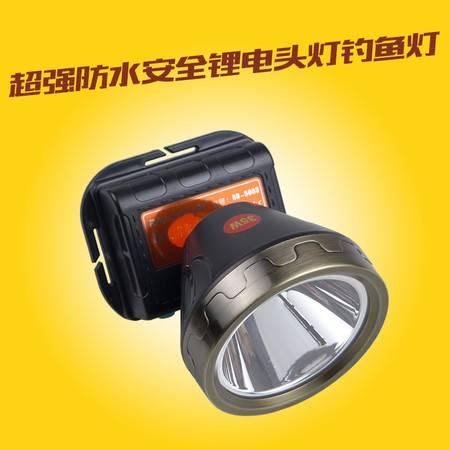 锐豹 超强防水安全锂电头灯钓鱼灯超亮头戴式手电筒矿灯夜钓户外钓鱼头灯5003