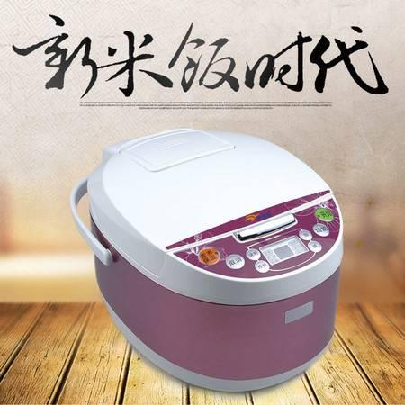 佳佳恋智能电饭煲CFXB50-90F  5.0L玫瑰红色 预约定时柴火饭多功能电锅中国质造包邮