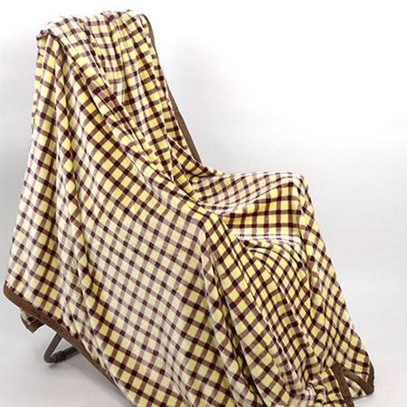 【仅限新乡地区销售】玉沙空调毯毛巾被玉沙毛毯珊瑚绒毯子床单午休午睡沙发毯单人双人被200*230cm