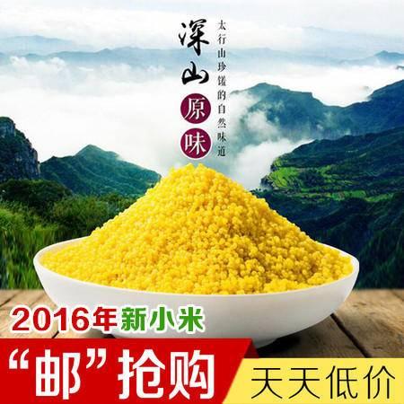 太行山小米(袋装)400g 营养丰富 古色醇香 唯有太行 靠山红的小米 吃出来的口碑