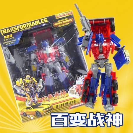 【邮乐新乡馆】荣达丰百变金刚玩具汽车机器人3036变形玩具手动变形机器人模型男孩儿玩具