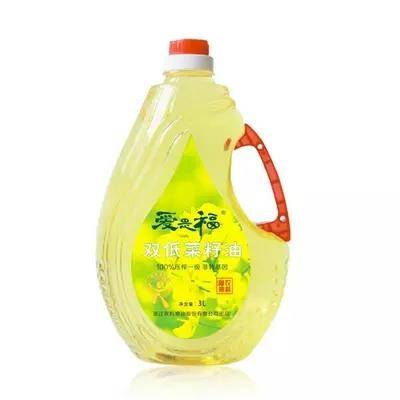 asfo双低菜籽油3L