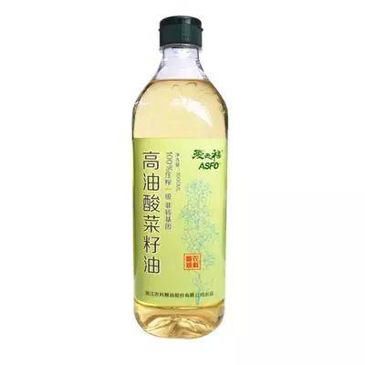 asfo高油酸菜籽油家庭装1L