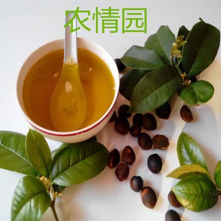 赣南特产正宗野生山茶油纯绿色健康有机茶籽天然木籽油食用调味油