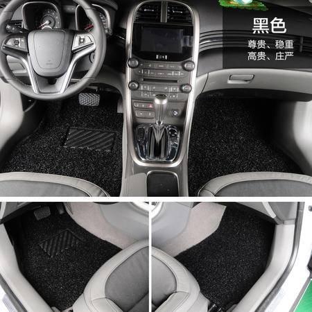 凌匠 汽车丝圈脚垫环保PVC加厚 现代朗动IX35 8代索纳塔 新途胜