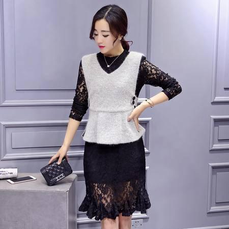JEANE-SUNP2016年新款连衣裙春装新品冬款休闲韩版潮女装今年冬天最流行春装