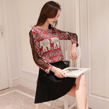 JEANE-SUNP2016年新款春装连衣裙春季韩版潮流春款时尚春天修身流行新品女装
