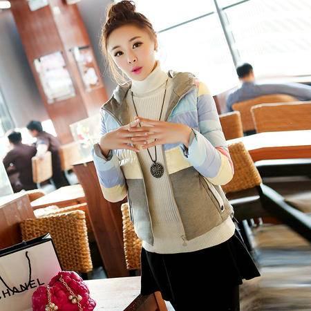 JEANE-SUNP 秋冬季韩版新款女式修糖果色羽绒服短款修身羽绒女装外套潮