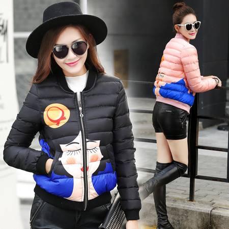 JEANE-SUNP 2016秋冬季新款女式韩版学生修身时尚短款加厚小款羽绒服羽绒衣潮