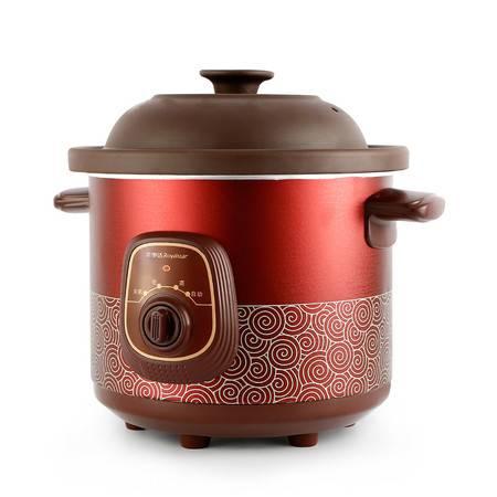 荣事达电炖锅 RDG-35Z紫砂锅电炖盅陶瓷煲汤锅煮粥锅