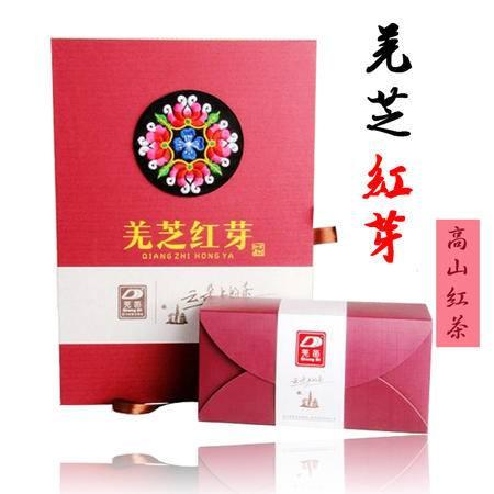 红茶 四川红茶北川高山古树工夫红茶羌芝红芽152g礼盒满3盒包邮