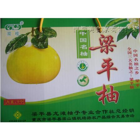重庆梁平龙滩柚高档礼盒2只4斤装