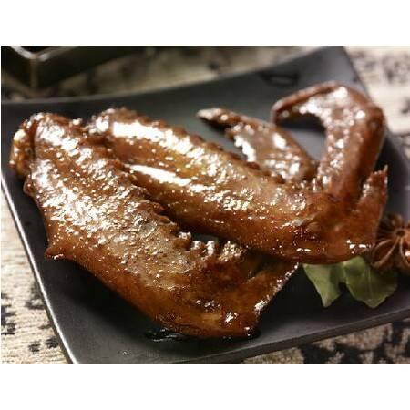 """重庆梁平特产""""梁平张鸭子休闲食品鸭肉类零食小吃鹅翅袋装240g"""