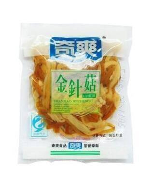 重庆梁平特产奇爽金针菇 山椒250g散装